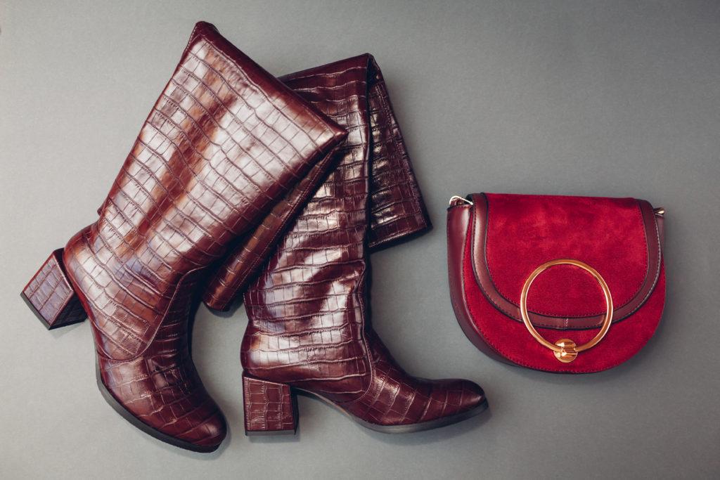 велурени чизми