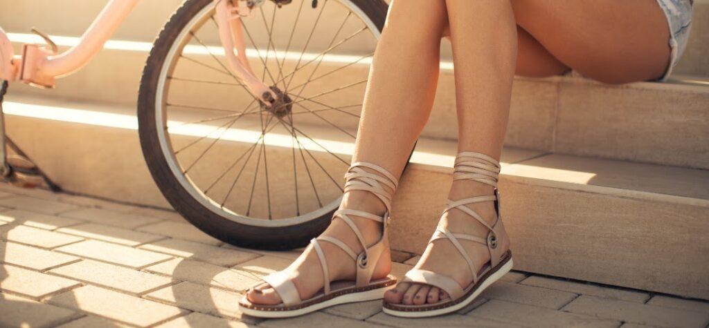 Как можем да носим дамски сандали